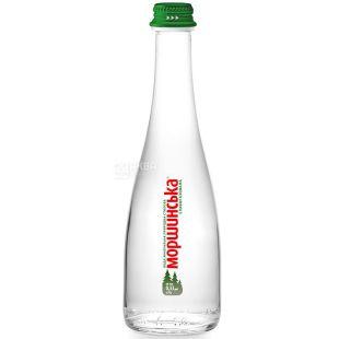 Morshynska, 0.33 l, Lightly carbonated water, Premium, glass, glass