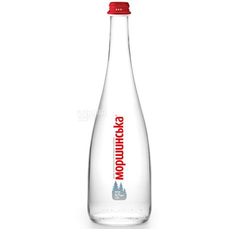 Моршинская Premium, 0,75 л, Вода минеральная негазированная, стекло