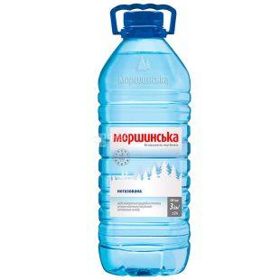 Моршинська, 3 л, Вода мінеральна негазована, ПЕТ