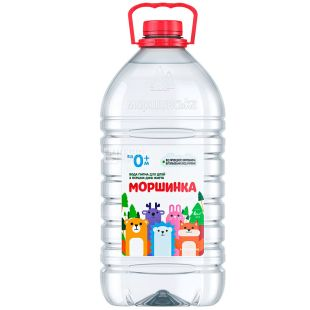 Morshinka non-carbonated water for children, 6 l, PET, PAT