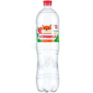 Morshinka non-carbonated water for children, 1.5 l, PET, PAT