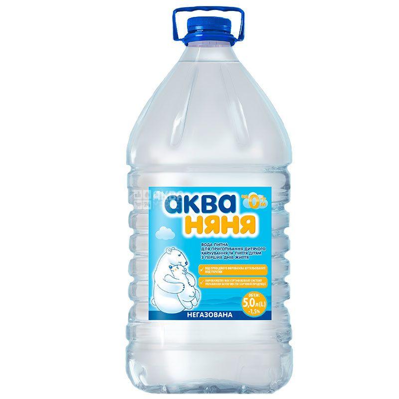 Aqua Nanny, Children's Water non-carbonated, 5l, PAT