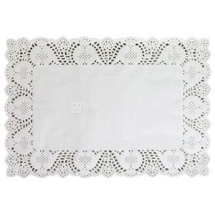 Openwork napkin, 30 * 40 cm, 100 pcs