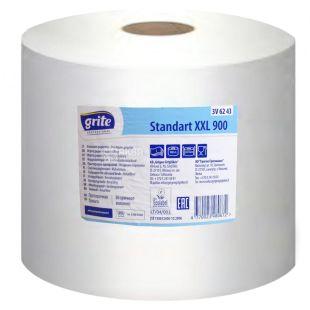 Grite, Standart XXL 900, 1 рул., Папір для протирання Гріте Стандарт, одношарова, 900 м