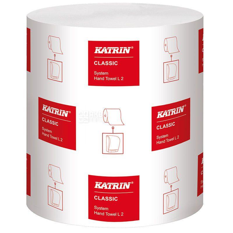 KATRIN, Classic XL, 1рул., Полотенца бумажные Катрин, 2-х слойные, 160 м