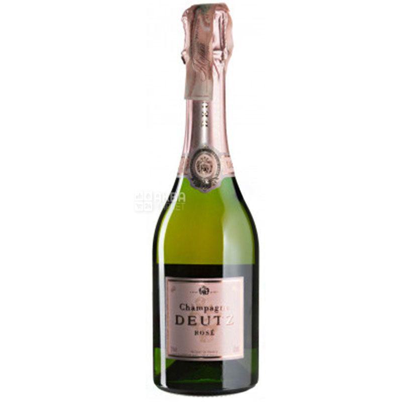 Deutz, Champagne Deutz, Вино игристое розовое Брют, 0,375 л