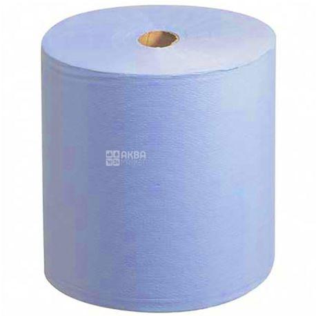 Scott, 1 рул., Паперові рушники Скотт, одношарові, блакитні, 304 м