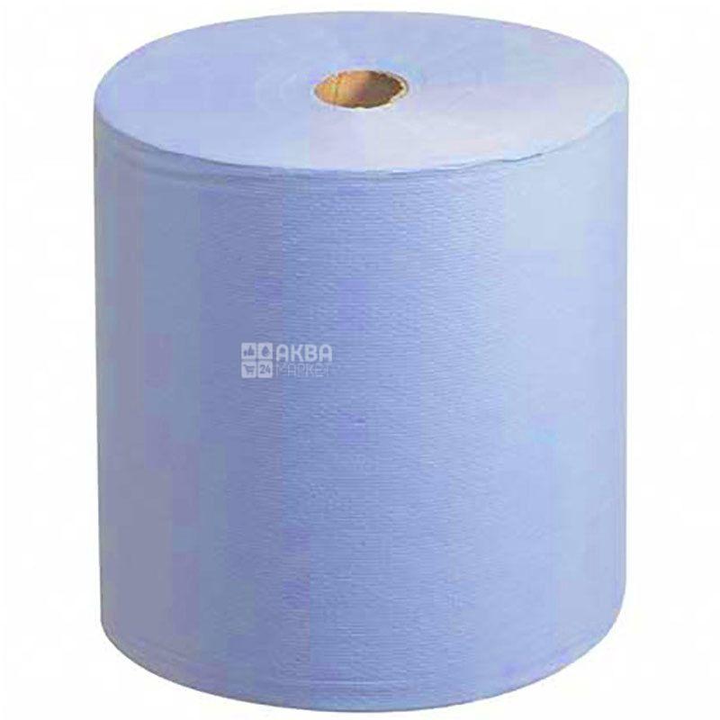 Scott, 1 рул., Бумажные полотенца Скотт, однослойные, голубые, 304 м