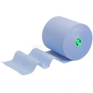 Scott, 1 рул., Паперові рушники Скотт, одношарові, блакитні, 304 м, 1016 листів, 20х20 см см