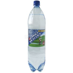 Polyana Kvasova, 1.5 l, carbonated water, PET, PAT