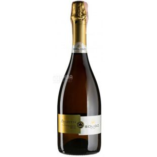 Soligo, Prosecco Treviso Extra Dry, Игристое вино белое экстра-сухое, 0,75 л