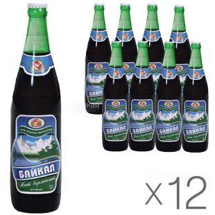 Черкасские Лимонады, Байкал, 0,5 л, Упаковка 12 шт., Напиток газированный, стекло