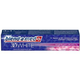 Blend-a-med 3D White, Бадьориста Свіжість, Зубна паста, 100 мл