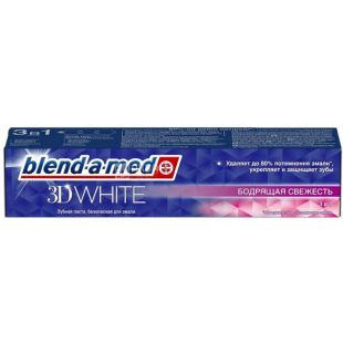 Blend-a-med 3D White Invigorating Freshness, Toothpaste, 100 ml
