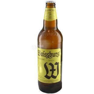 Waissburg, Пиво белое нефильтрованное пастеризованное, 0,5 л