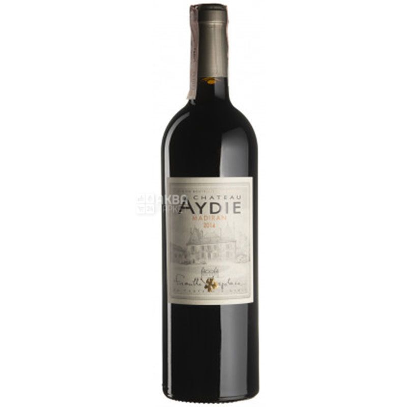 Chateau d'Aydie, Madiran, Вино красное сухое, 0,75 л