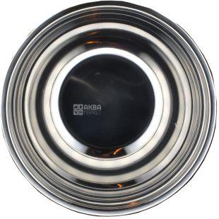 Миска для миксера металлическая, Нержавеющая сталь, 21 см