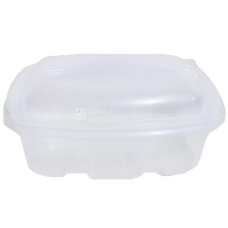 Астрапак, Контейнер с крышкой пластиковый, 370 мл