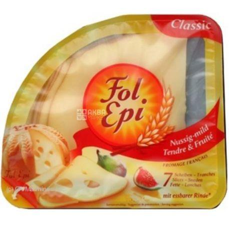 Fol Epi, 130 г, Сыр полутвердый, выдержанный, 40%