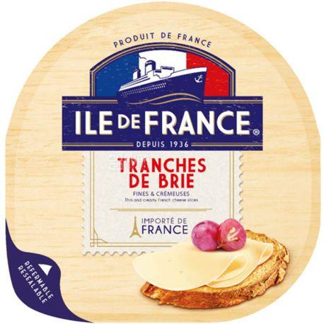 Ile de France, Brie, 150 г, Сыр нарезанный Бри, 57%