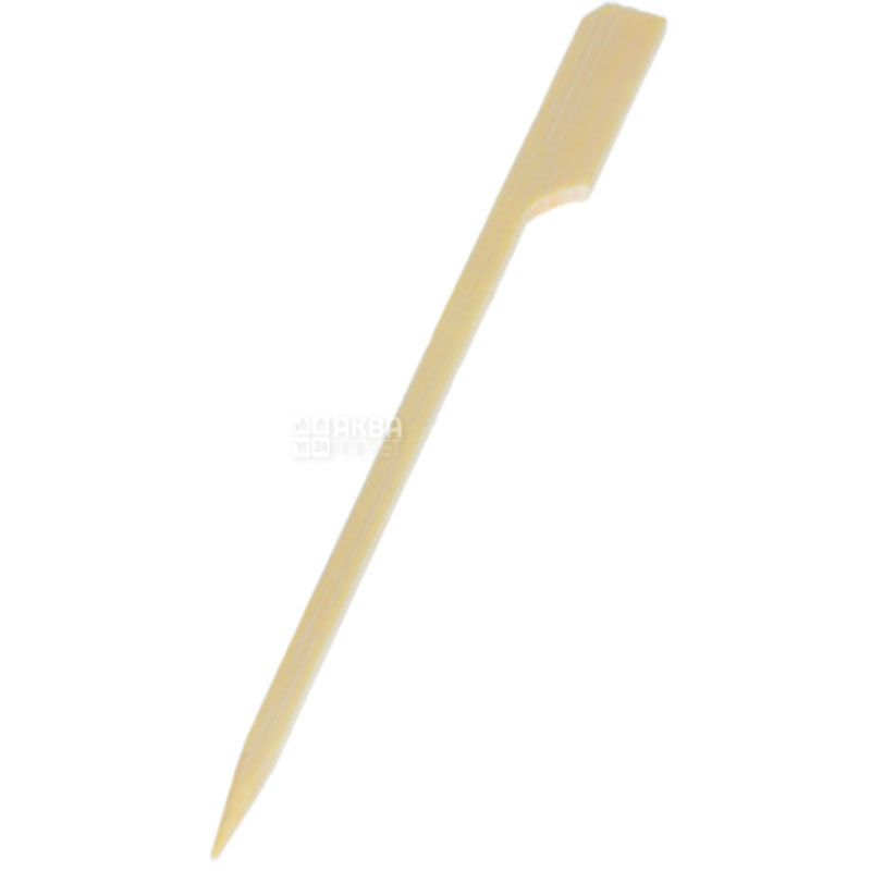 PapStar, Шпажки бамбуковые Гольф, 12 см, 250 шт.