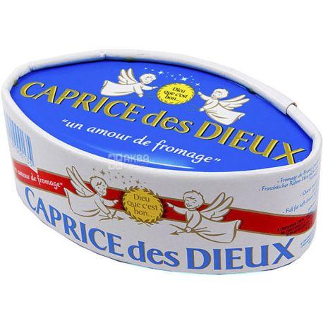 Bongrain, Caprice des Dieux, 125 г, Сыр мягкий с плесенью, 60%