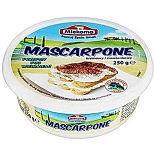 Mlekoma Mascarpone, Сыр Маскарпоне, 250 г