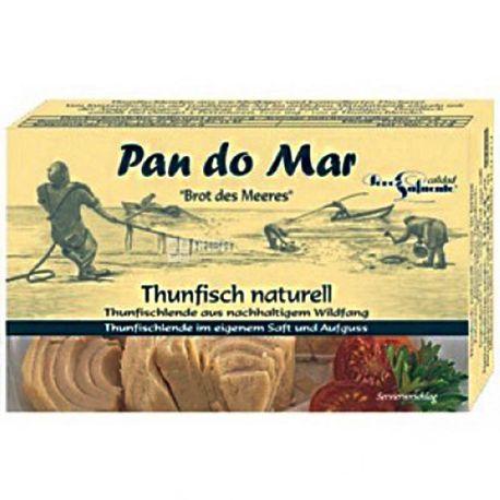 Pan do Mar, Тунец в собственном соку, 120 г