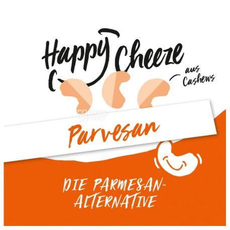 Happy Cashew Parvesan, 110 г, Сыр из кешью веганский, 40%