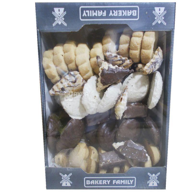 Bakery Family, 800 г, Печенье, Гостеприимное, Набор Ассорти