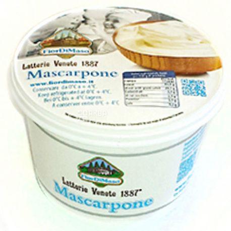 Fior di Maso, Mascarpone, 500 г, Сыр Маскарпоне, 43%