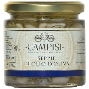 Campisi, 220 г, Каракатиця в оливковій олії, консервована