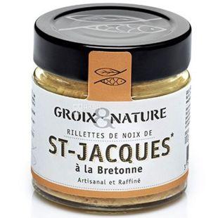 Groix & Nature, Рієт з морського гребінця у Бретонському стилі, 100 г