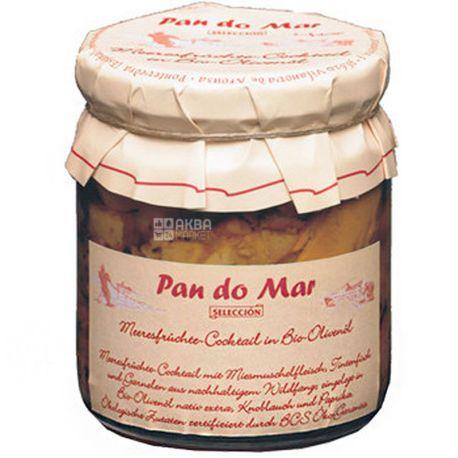 Pan do Mar, 220 г, Морской коктейль в органическом оливковом масле