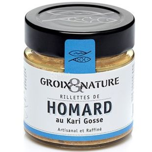 Groix & Nature, 100 г, Рієті з омара з каррі Гуса
