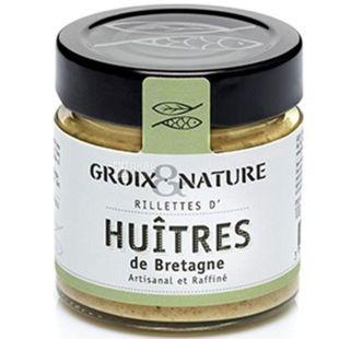 Groix & Nature, 100 г, Риет из устриц по Бретонски