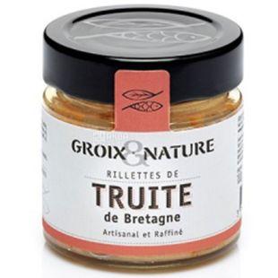 Groix & Nature, 100 г, Рієт з форелі