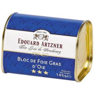 Edouard Artzner, 145 г, Фуа-гра гусиная