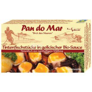 Pan do Mar, 120 г, Щупальця кальмара в органічному галісійському соусі