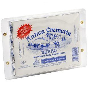 Montanari Gruzza, Antica Cremeria, 16х9,4 г, Масло сливочное, порционное, 83%