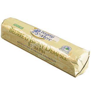 Isigny Ste Mere, 250 г, Масло сливочное, слабосоленое, 80%