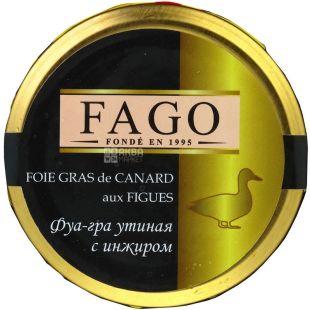 Fago, 180 г, Фуа-гра качина з інжиром