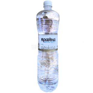 Крайна, 1,5 л, Вода негазована кремнієва, ПЕТ