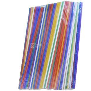 Микспак, Трубочки алкогольные, 21 см, цветные, 500 шт.