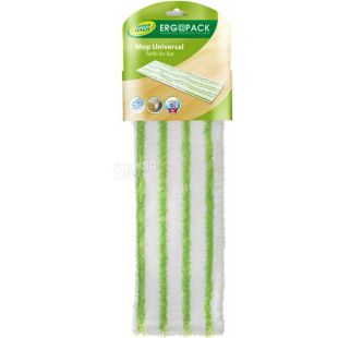 Ergopack Green Magic 5750, Насадка для швабры Эргопак Грин Мэджик, универсальная, 44х13х1 см