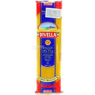 Divella Spaghetti Ristorante №8, 500 г, Макароны Дивелла Ристоранте, Спагетти