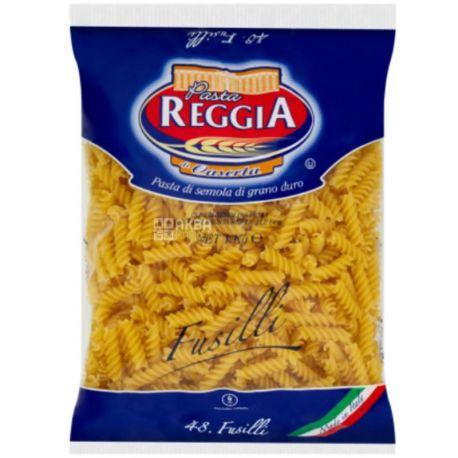 Pasta Reggia, Fusilli, 1 кг, Макароны Паста Реггиа, Спираль