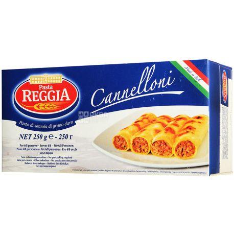 Pasta Reggia Cannelloni №109, 250 г, Макароны Паста Реггиа Канелони