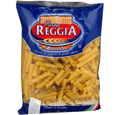 Pasta Reggia Cannolicchi rigati № 45, 500 г, Макароны Паста Реггиа Канноличи