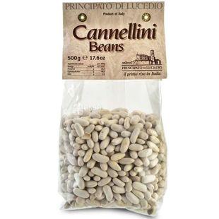 Principato di Lucedio, Cаnnelini beans, 500 г, Прінсіпато ді Лючедо, Квасоля Каннелліні